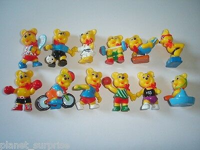 Haribo Gold-Bears Sports Figurines Set Teddy Bears Teddies Figures Collectibles