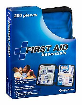 200 Pieces Emergency First Aid Essential Kit & Soft Case FAO-432