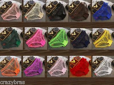 Sexy Transparent Panties - Sizes: S, M, L, XL - Lots of colours - NEW STOCK