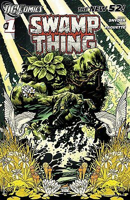 Swamp Thing #1 New 52 (2011)