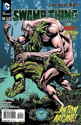Swamp Thing #10 New 52 (2012)