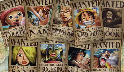 395 One Piece Wanted Posters PLAYMAT CUSTOM PLAY MAT ANIME PLAYMAT FREE SHIPPING