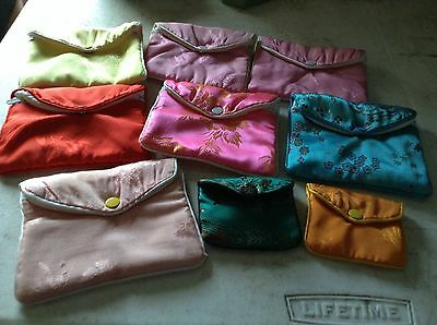 Assorted Jewelry Pouches