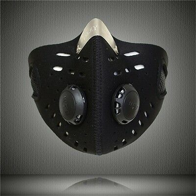 Cycling Training Mask Bicycle Sport Men Face Mask MTB Bike Air Solf Mask Cover