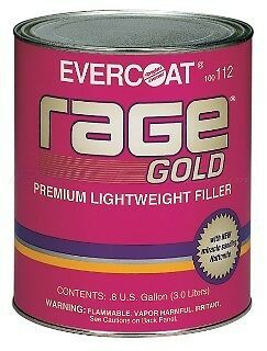 Rage Gold Premium Lightweight Filler FE-112 1 Gallon