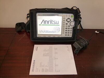 Anritsu MS2026A VNA Master 2MHz to 6GHz Vector Network Analyzer w/ Opts 5/10/31