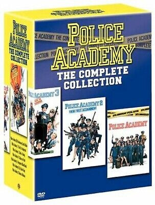 Police Academy Complete Movie Collection Part 1 2 3 4 5 6 7 DVD Box Set Film New