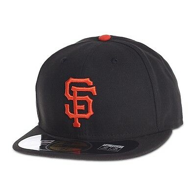 new style da532 e1626 New Era Cap 59FIFTY San Francisco Giants GM All Sizes MLB Fitted NWT