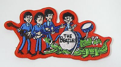 """The BEATLES Figures - TV Series - Embroidered Iron-On Patch - 3 1/2"""""""