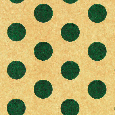 Printed Tissue Paper - Green Dots Pattern - 240 Sheets