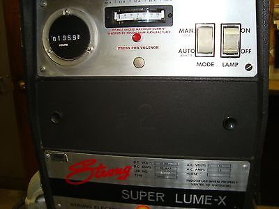 35mm Strong SUPER LUMEX Xenon Lamphouse with 110 volt Power Supply