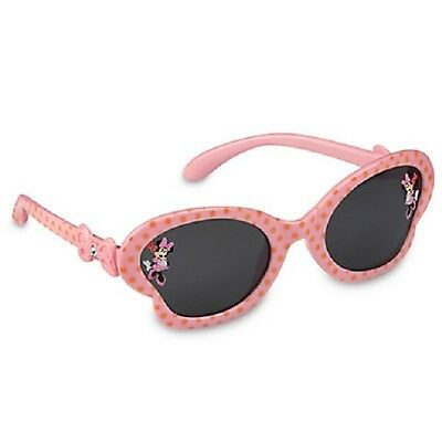 New Disney Minnie Mouse Clubhouse Pink Rhinestone Sunglasses