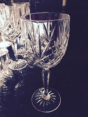 Cristal d'Arques Provence Crystal Water/Wine Goblets 7 5/8 High -6 Glasses