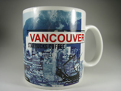 Starbucks Vancouver Mug 1999 Excellent Condition 20 Ounces