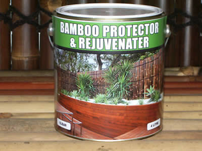 Bamboo Protector & Rejuvenator - Oil / Stain for Bamboo Screens - 2L or 4L