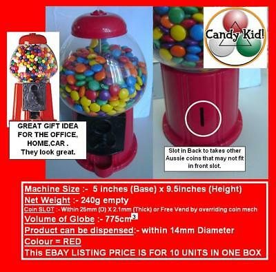 10 X Candy Mini Vending  TOY HOME  OFFICE $10.00 EACH
