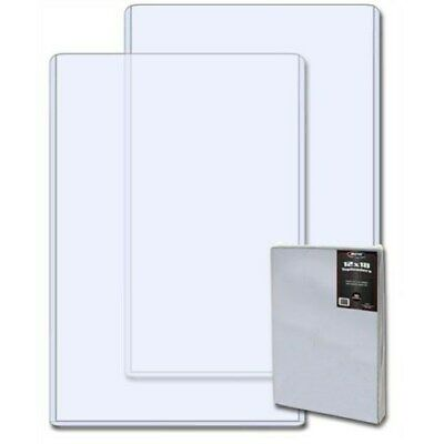 Pack /10 BCW 12x18 Hard Plastic Topload Photo / Print Holders 12 x 18 toploaders