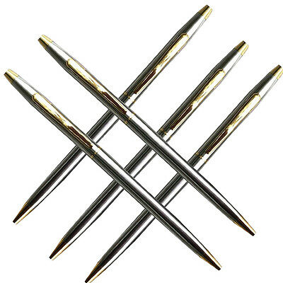 WOW Deluxe Business Office affairs Metal Case Ball Point Pen Stationery Writing