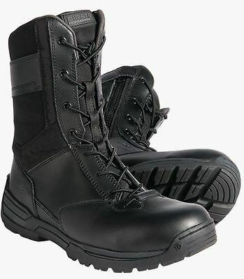 "First Tactical Men's 8"" Composite Toe Size Zip Tactical/Police/Swat Duty Boots"