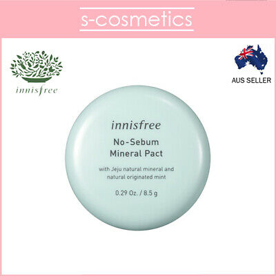 [INNISFREE] No Sebum Mineral Pact 8.5g Oil Control Compact Setting Powder
