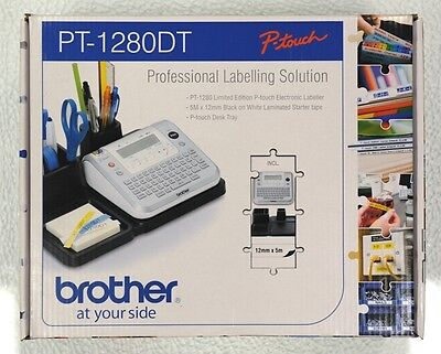 Brother P-Touch PT - 1280DT Label Printer / Labeller