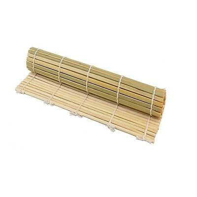 Roll-Up Bamboo Wood Placemats - Dinner Table Setting Sushi Mat