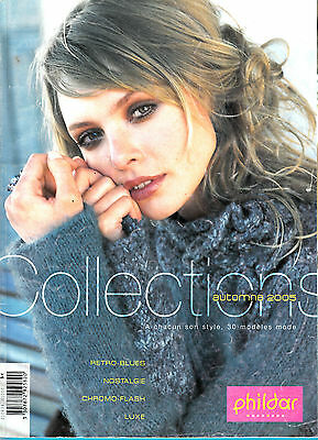 Catalogue Tricot Phildar Collection A Chacun Son Style N°434 30 Modeles Mode