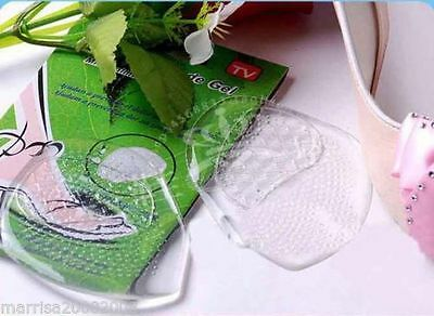 10 X Invisible Silicone Cushion Insole Front Heel Gel Pad High Shoes Insole