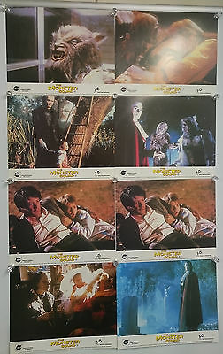 The Monster Squad (1987) Lobby Card Front Of House Cards Set of 8 Rare