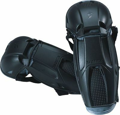Thor Quadrant Youth Elbow Guards/Protectors One Size Black MX Motocross Off-Road