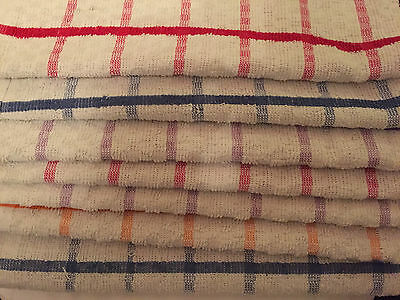 Extra Large Jumbo Terry 100% Cotton Catering Tea Towels Kitchen Dish Dry Cloths