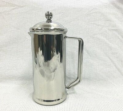 800ml Stainless Steel Coffee Plunger French Press Tea Maker Shiny Polished
