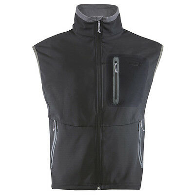 Sitka Black Jetstream Vest (30011-Bk)