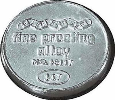Fine Proofing Alloy 1Lb Cake - #16117