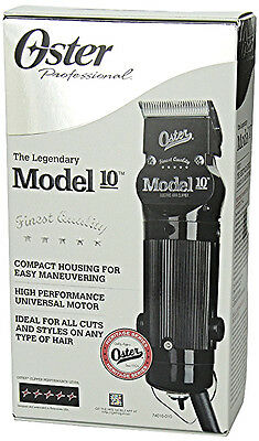 The Legendary Model 10 Hair Clipper Oster Salon Barber Supply 000 Blade Included
