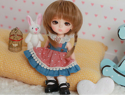 BJD Doll 1/8 Lea (2 additional hand parts) free eyes +face make up