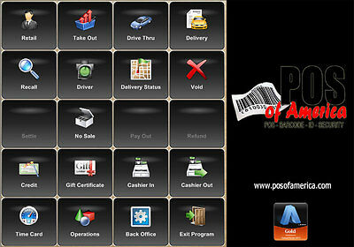 Aldelo Pro Software For Restaurants Bar Pizza Bakery Pos New
