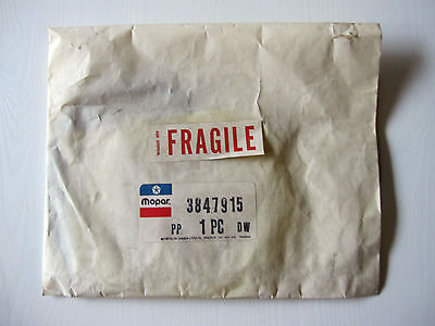 NOS Mopar Gasket Seal Kit 3847915 in original vintage envelope package!! New