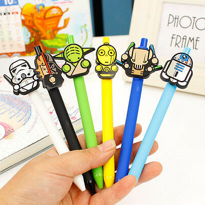 Cartoon Star Wars Ball Point Ballpoint Pen Office Stationery Writing Pens GIFT