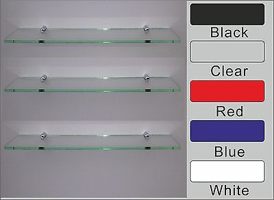 ACRYLIC SAFETY SHELF WITH CHROME FIXINGS(Dining,Kitchen Bathroom,bedroom )