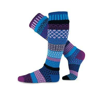 Solmate Socks - Mismatched Knee Socks, ALL COLORS Made in USA/Recycled Yarns