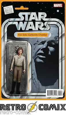 Marvel Star Wars Han Solo #1 Action Figure Variant New/unread Bagged & Boarded