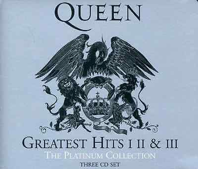 QUEEN Platinum Collection Greatest Hits I II III Audio Music CD Volume 1 2 3 New