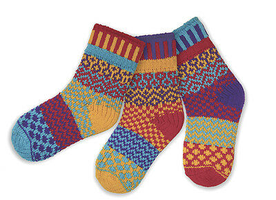 Solmate Socks - Mismatched Kids Socks, ALL COLORS Made in USA/Recycled Yarns