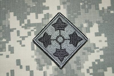 VELCRO ® Military Patch US Army 4th Infantry Division ACU Authentic Perfect Cond