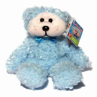 River The Blue Bear  Beanie Kids Bnwt