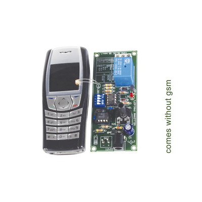 Velleman MK160 REMOTE CONTROL VIA GSM MOBILE PHONE