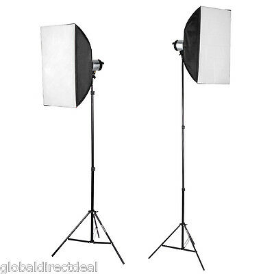 Professional 2.1m Stand Tripod Studio Adjustable Soft Box Flash Continuous Light