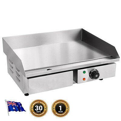 NEW Commercial Electric Griddle GRILL, Stainless Steel, Fast Start, Easy Clean