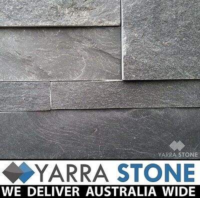 Stack Stone Wall Cladding / Stacked Stone / Natural Stone - Charcoal Stackstone